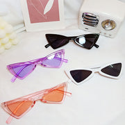Toddler Triangle Sunglasses Wholesale Children's Clothing Light Purple Free size