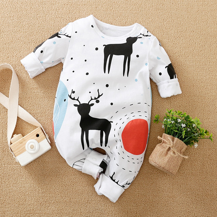 Cartoon Design Jumpsuit for Baby Boy Wholesale children's clothing - Riolio
