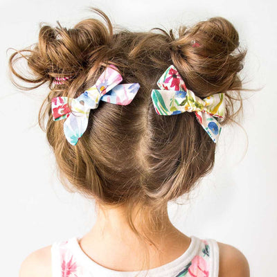 Cotton Printed Hair Clip for Girl Wholesale children's clothing - Riolio