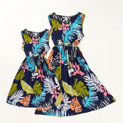 Beach Dress for Mother and Daughter Wholesale Children's Clothing Multi Girl: 4-5Y