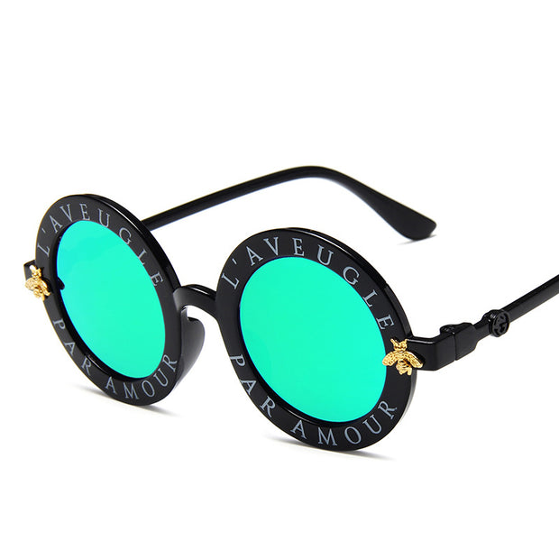 Letter Pattern Sunglasses Wholesale Children's Clothing Style4 Free size