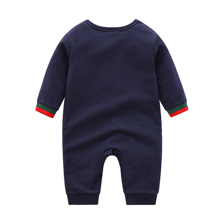 Stripe Jumpsuit for Baby Wholesale children's clothing - Riolio