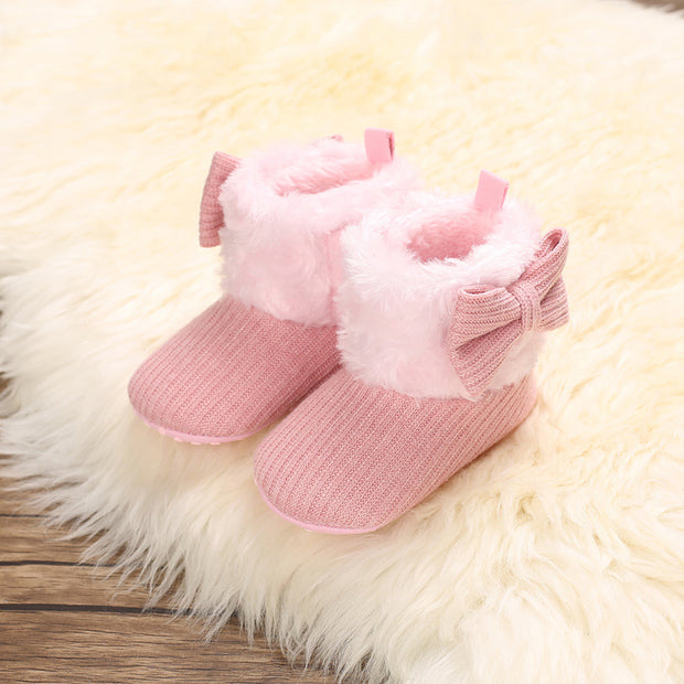 Velcro Design Cotton Fabric Shoes for Baby Girl Wholesale children's clothing - Riolio