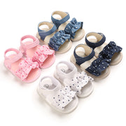 Velcro Ruffle Baby Shoes Wholesale Children's Clothing - Riolio