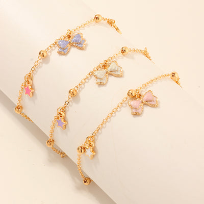 3-Pieces Sweet Children's bracelet For Girls Wholesale children's clothing - Riolio