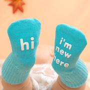 Letter Pattern Socks for Baby Wholesale children's clothing - Riolio