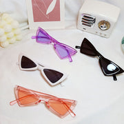 Toddler Triangle Sunglasses Wholesale Children's Clothing Coral Free size