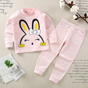 2-piece Cartoon Design Pajamas Sets for Toddler Girl Wholesale children's clothing - Riolio