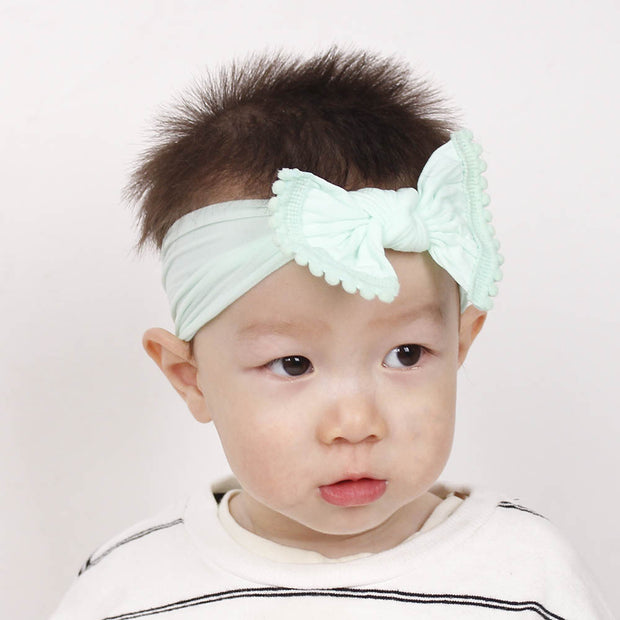 Small Ball Decorative Bow Hair Accessories for Baby/Toddler Girl Wholesale children's clothing - Riolio