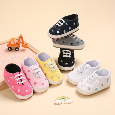 Baby Star Pattern Shoes Wholesale Children's Clothing Rose Red 11