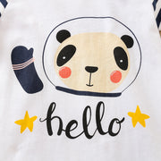 Panda Pattern Jumpsuit for Baby Boy Wholesale children's clothing - Riolio
