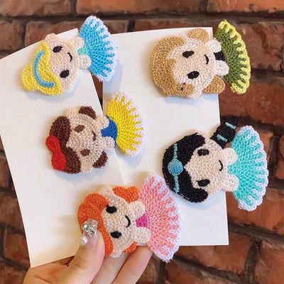 Cartoon Princess Hair Clip Wholesale Children's Clothing - Riolio