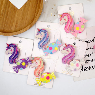 Cartoon Design Children's Hair Accessories Hair Clip Wholesale children's clothing - Riolio