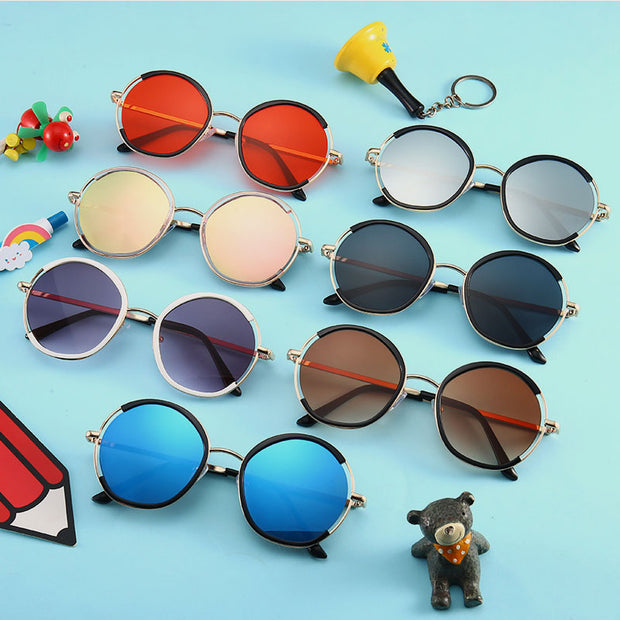 Colorful Sunglasses Wholesale Children's Clothing Style1 Free size