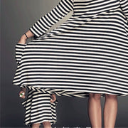 Summer Striped Dress Mother Baby Clothes Wholesale children's clothing - Riolio