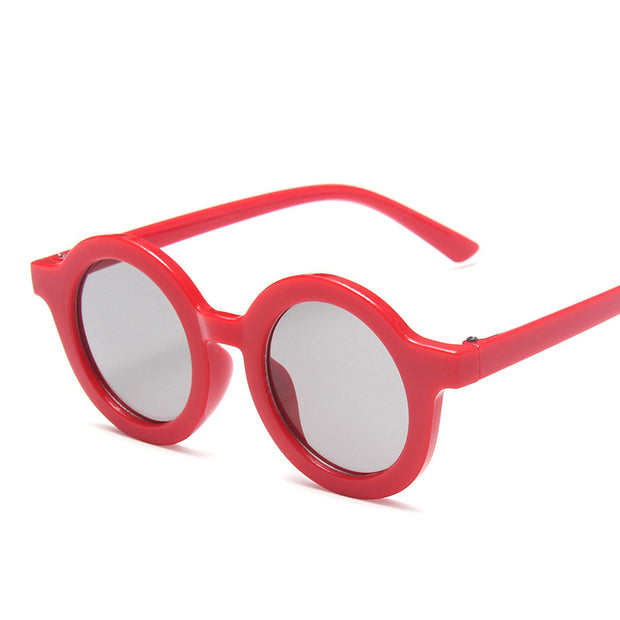 Retro Sunglasses Wholesale Children's Clothing Red Free size