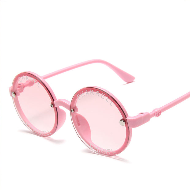Fashion Sunglasses Wholesale Children's Clothing Silver Free size