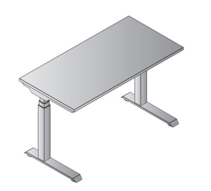 Height Adjustable Asend Desk