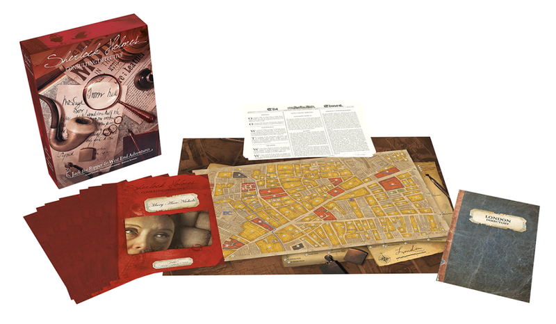 Sherlock Holmes, Consulting Detective - Vol.2: Jack the Ripper& West End Adventures (ANG)