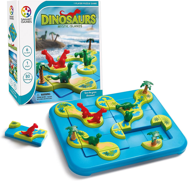 Dinosaures iles Mystique Version Multilingue