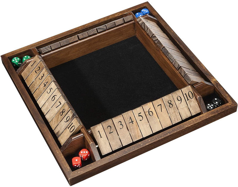 Shut The Box 1-4 Joueurs