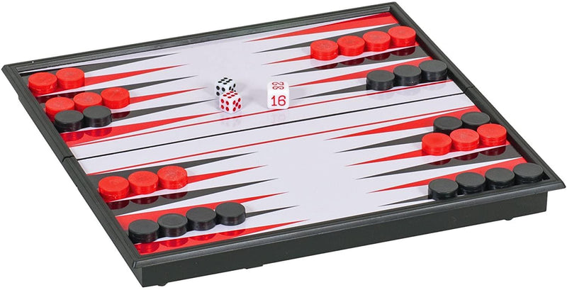 Magnetic Backgammon 8in