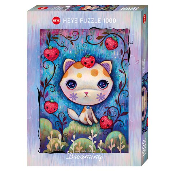 Heye 1000P Dreaming Strawberry Kitty par Ketner