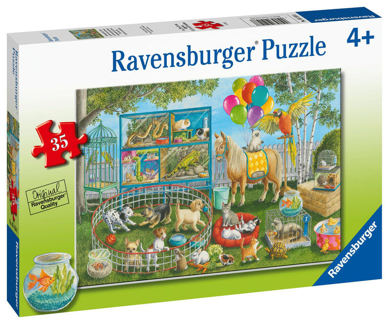 Puzzle Ravensburger 35P Pet Fair Fun
