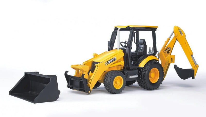 Bruder - Miniature Vehicle - Tractopelle JCB Midi Cx