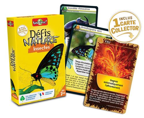 Défis Nature Insectes Version Français