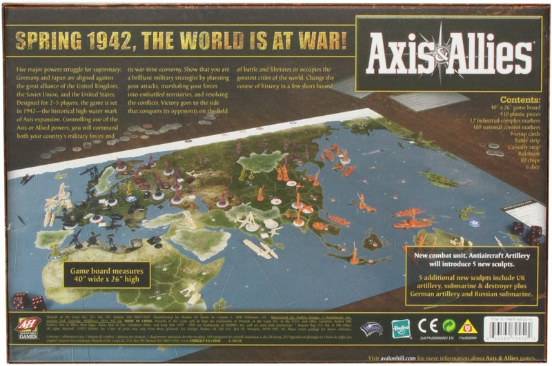 Axis and Allies 1942 Version Anglaise