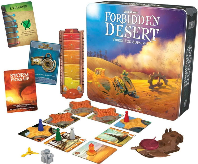 Forbidden Desert Tin Version Anglaise