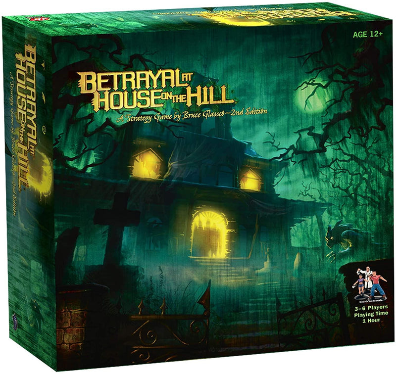 Betrayal at the House on the Hill Version Anglaise