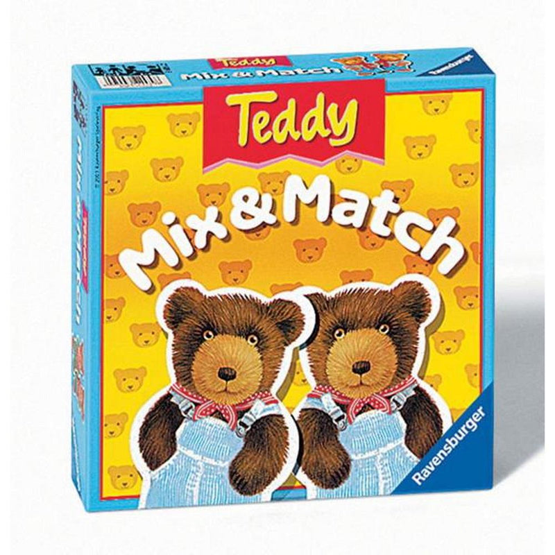Ravensburger - Memory, Teddy Mix & Match (MULTI)