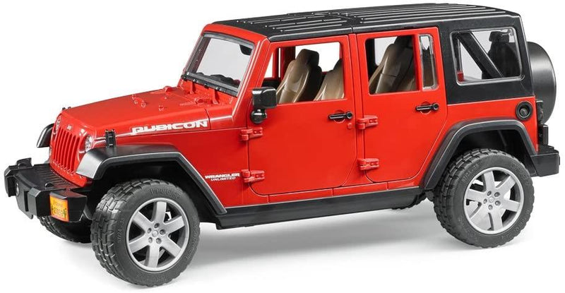 Bruder Jeep Wrangler Unlimited Rubicon, Rouge