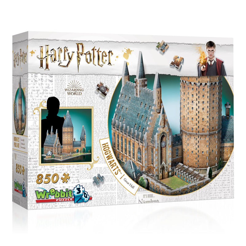 Wrebbit Puzzle 3D Hogswarts Great Hall