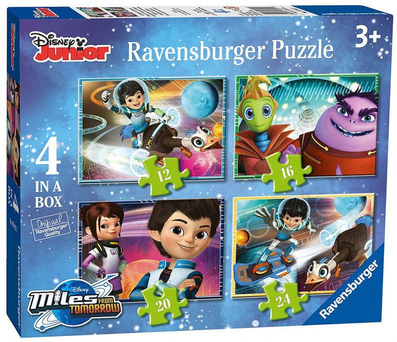 Ravensburger Progressif 12p-16p-20p-24p Disney Loin De Tomorrowland