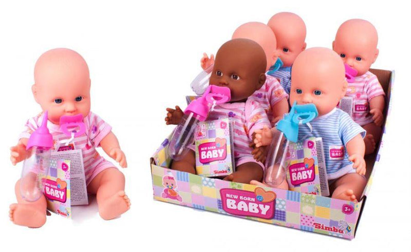 New Born Baby Drink Doll - Assorted Wet