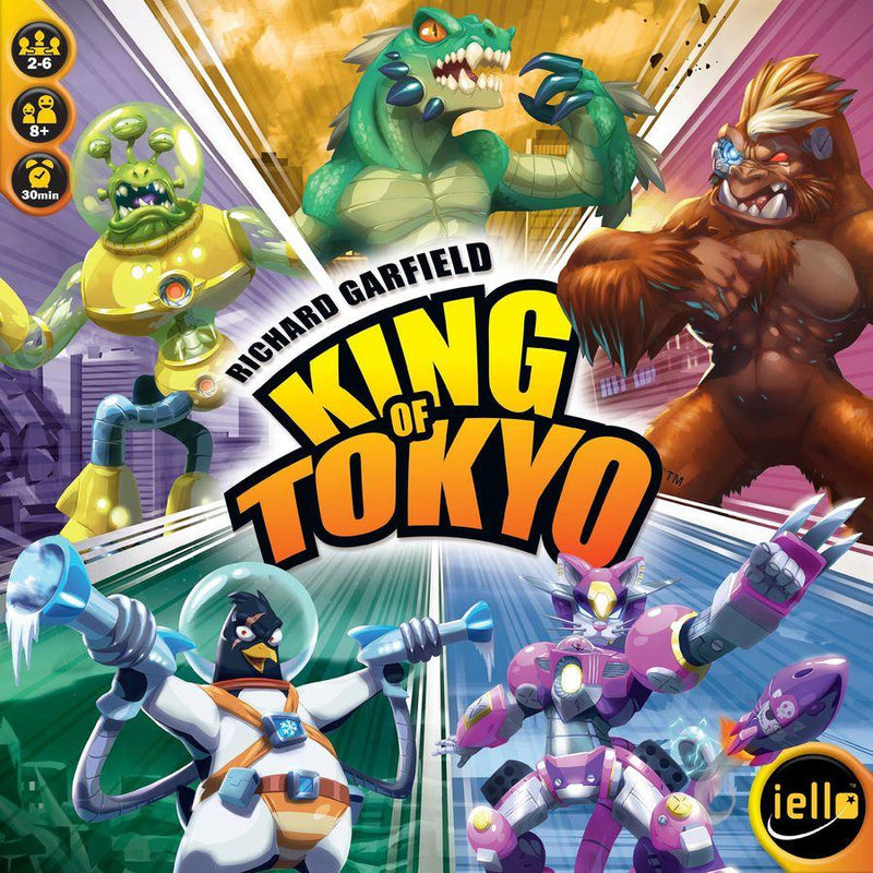 King of Tokyo Version Anglaise