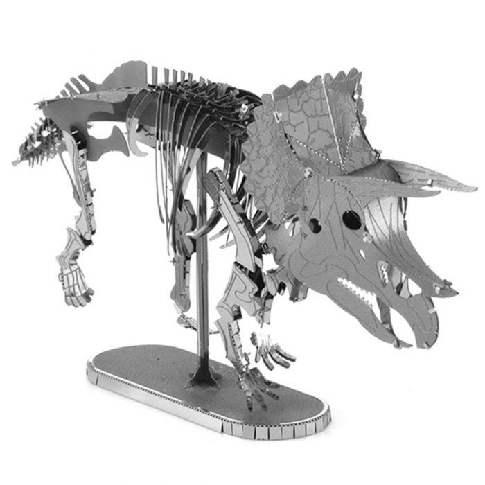 Metal Earth Triceratops