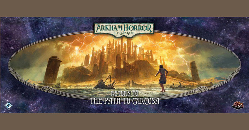 Horror in Arkham: The Card Game - Extension Back on the Way To Carcosa (ENG)