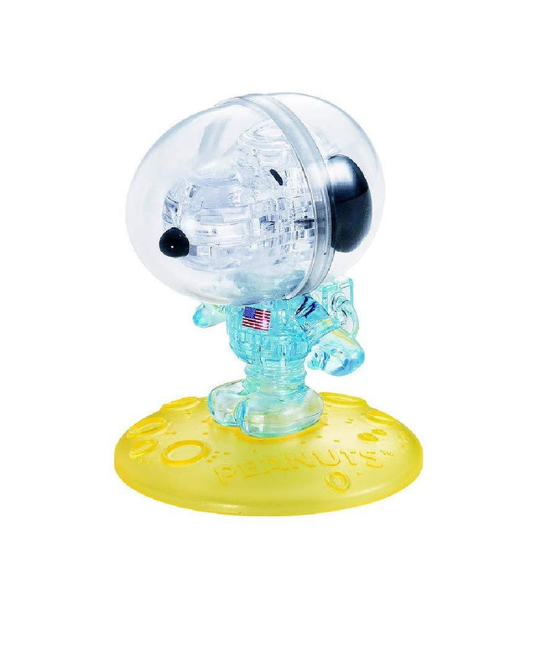 Crystal Puzzle Snoopy Astronaute