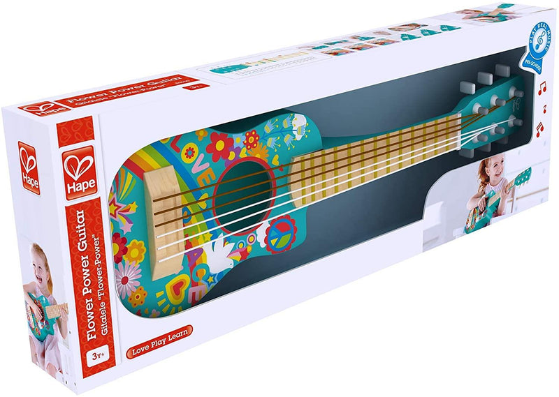 Jouet Hape Mini-Guitare Flower Power