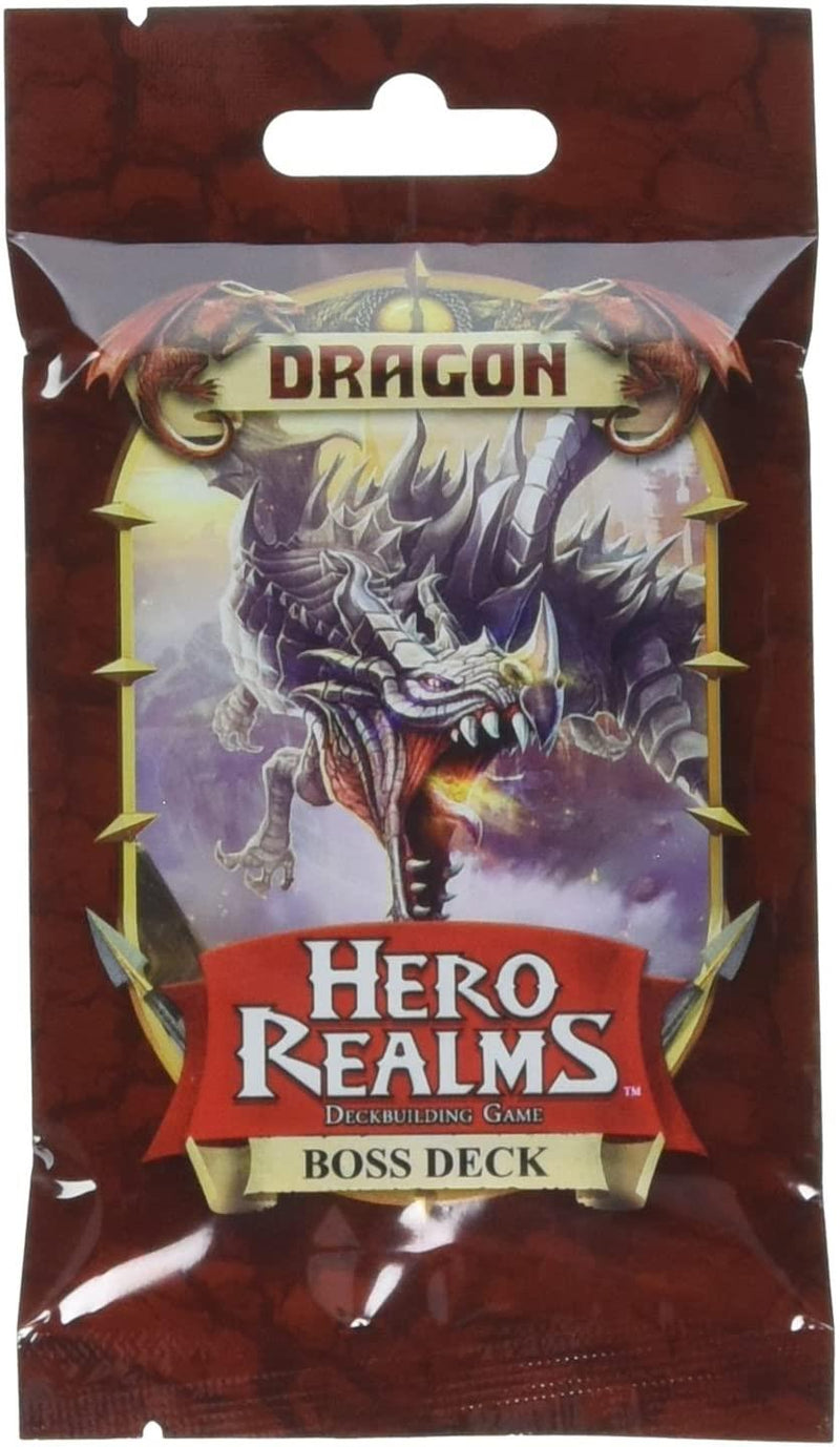 Hero Realms - Dragon Boss Deck Version Anglaise