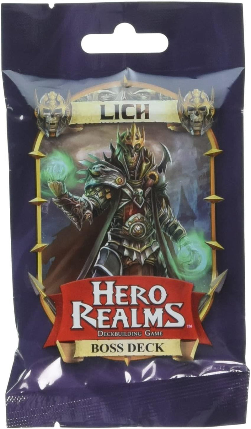 Hero Realms - Lich Boss Deck Version Anglaise