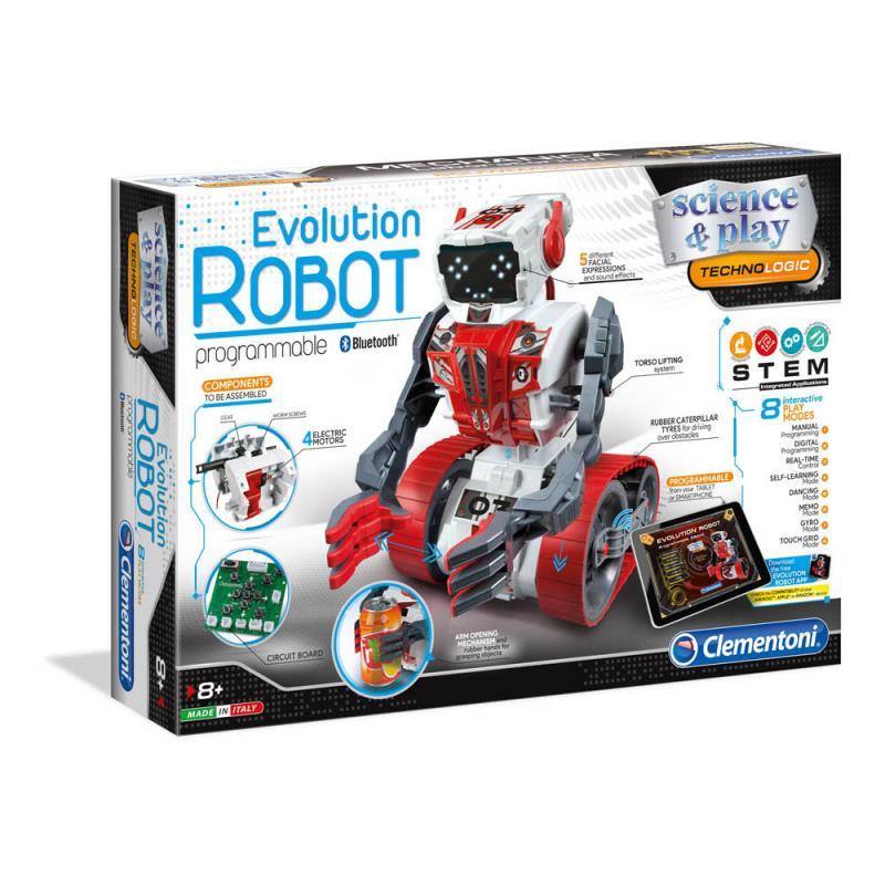 Robot Evolution Version Bilingue