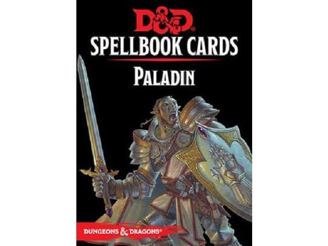 D&D 5 Spellbook Cards - Paladin 2nd Edition