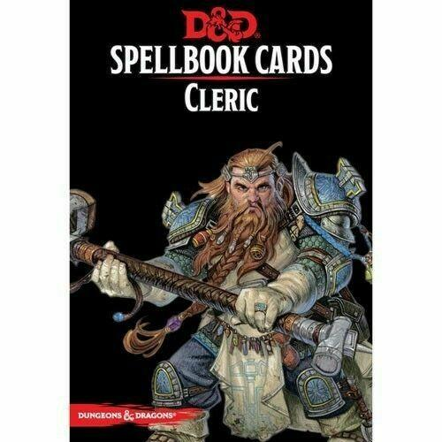 D&D 5 Spellbook Cards - Cleric 2nd Edition
