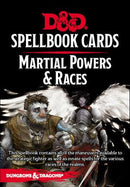 D&D 5 Spellbook Cards - Martial Powers & Races