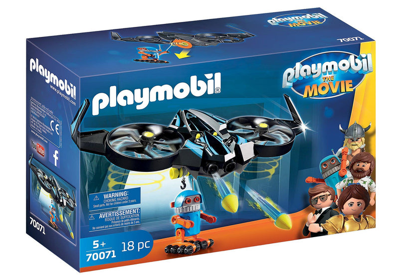 Playmobil The movie Robotitron avec drone